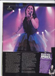 Amy Lee Kerrang 2014
