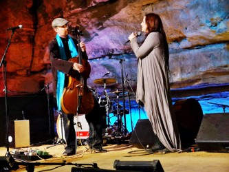 Дейв Эггар c Эми Ли на Bluegrass Underground Mar 8th,2014